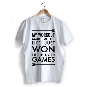 Workout Hunger Games T-Shirt
