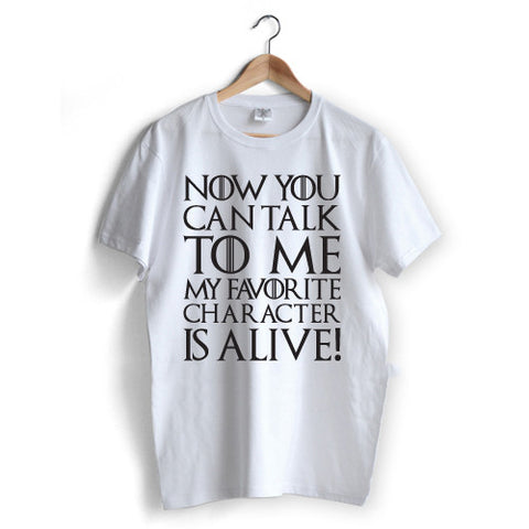 Alive Character T-Shirt