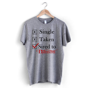 Single Taken Damon T-Shirt