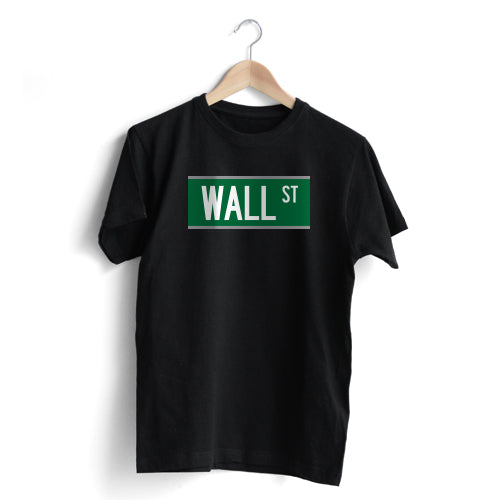 Wall ST Sign T-shirt
