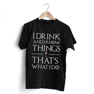 Drink And Know T-Shirt