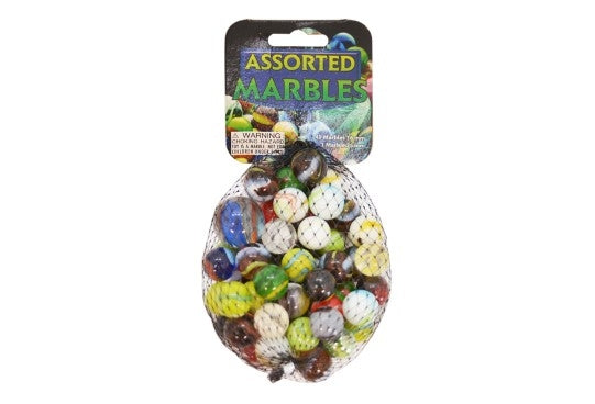 Marbles Assorted 49 sml + 1Lrg