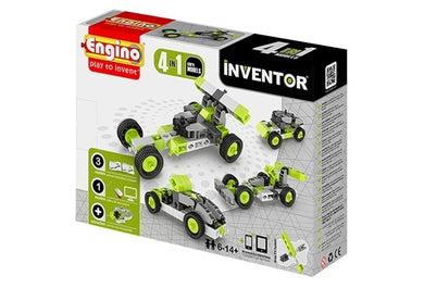 Engino Inventor 4 In 1 Models Cars