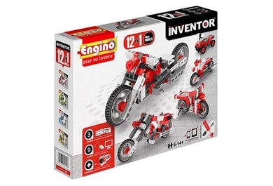 Engino Inventor 12 In 1 Models Motorbikes