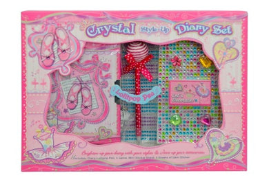 Crystal Style Up Diary Set