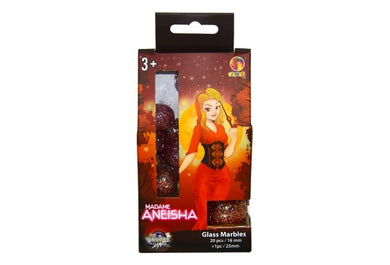 Marbles - Collectors Edition Aneisha 20xSml; 1xLrg (Boxed)