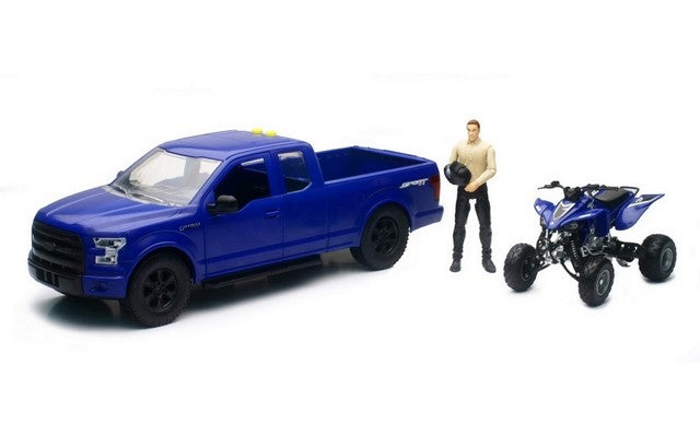 1/14 Ford F-150 With Quad Bike assorted