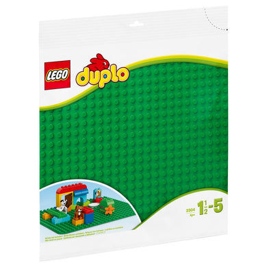 2304 Large Green Building Plate Duplo