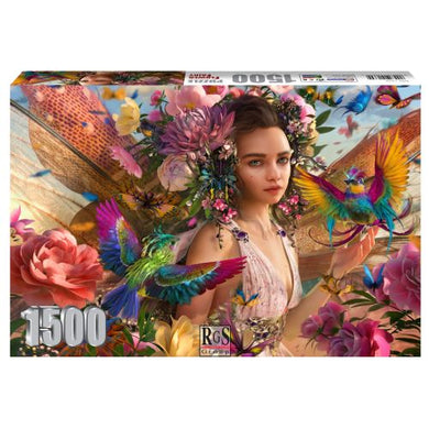 Puzzle 1500pc Flower Fairy
