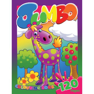 Colouring Book Jumbo 120pg