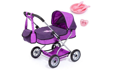 Smarty Doll's Pram Set with Bag & Accessories