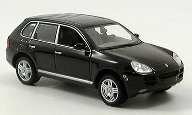 Porsche Cayenne Turbo Black 2002 (scale 1 :24)