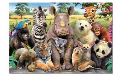 Puzzle 1000pc It's A Class Photo Animals