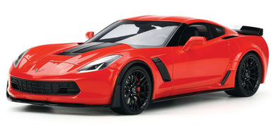 Chevrolet Corvette Z06 Red 2017 (scale 1 : 24)