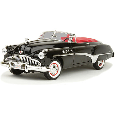 Buick Roadmaster Black/Red 1949 (scale 1 : 18)