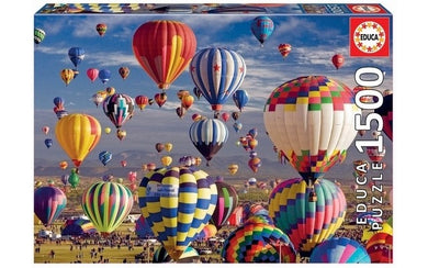 Puzzle 1500pc Hot Air Balloons