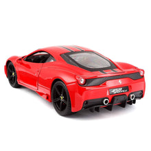 Load image into Gallery viewer, Burago LA Ferrari 458 Speciale Signature (scale 1 : 18)