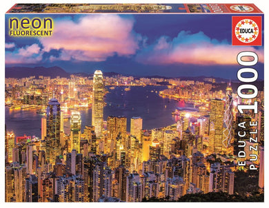 Puzzle 1000pc Hong Kong Skyline