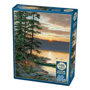 Puzzle 500pc Canoe Lake (Cobble Hill)