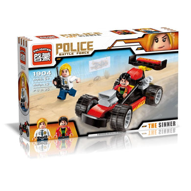 Police Battle Force/The Sinner 95pc