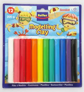 200g Modelling clay 12 colour