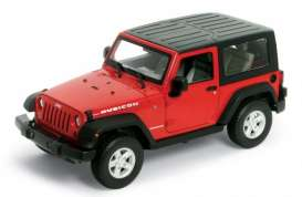 Jeep Wrangler Rubicon Pull Back 2007 (scale 1 : 38)