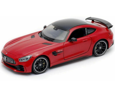 Mercedes AMG GT R Metallic Red (scale 1 : 24)