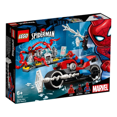 76113 Spiderman Bike Rescue Spiderman