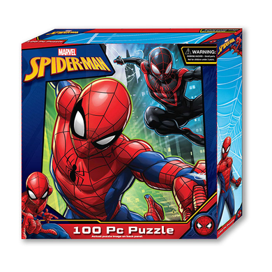 Puzzle 100pc Spiderman (Tuck Box)
