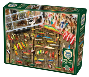 Puzzle 1000pc Fishing Lures (Cobble Hill)