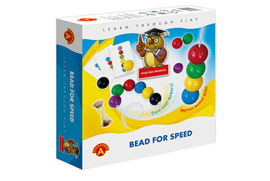 Wise Owl Bead For Speed Game