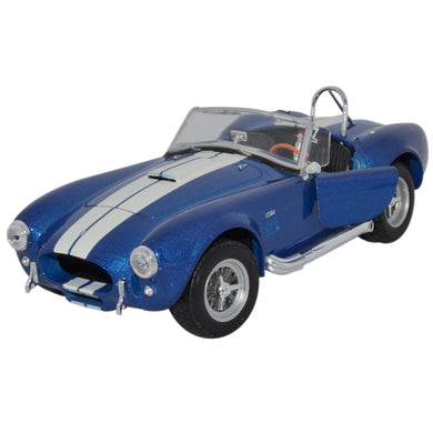 Shelby Cobra SC 427 Blue/White 1965 (scale 1:24)