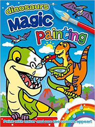 Magic painting Dinosaurs fun