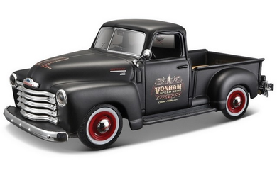Chevrolet 1950 Pickup (scale 1:25) DESIGN