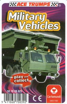 Military Vehicles Playing Cards