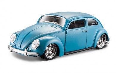 VW Beetle Hardtop (scale 1:24) DESIGN (Light Blue)