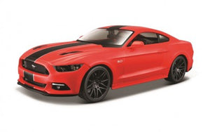 Ford Mustang GT2015 (scale 1 : 24)(Red)