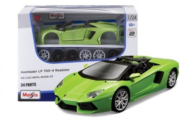 Lamborghini Aventador LP700-4 Roadster (scale 1:24) ASSEMBLY