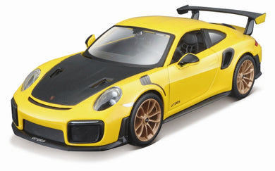 Porsche 911 GT2 RS (Kit) (scale 1 : 24) (Yellow)