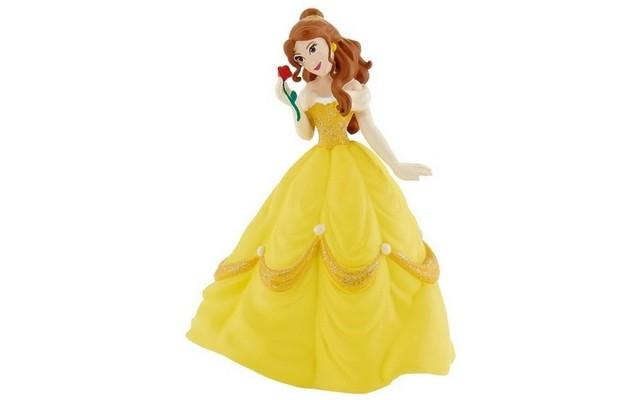 Beauty Belle With Red Rose Figurine
