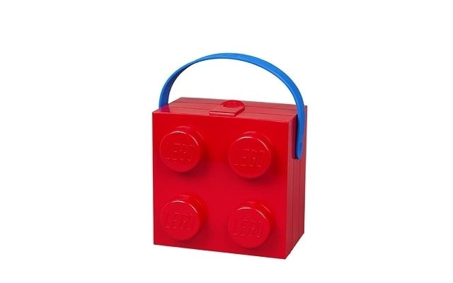 LEGO Lunch Box with Handle - Red