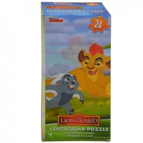 Puzzle 24pc Lion Guard Lenticular Tower