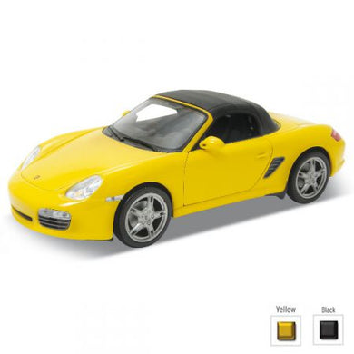 Porsche Boxster S Closed Soft Top Yellow 2012 (scale 1 :24)