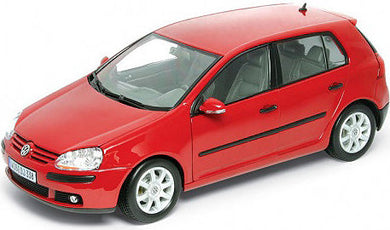 Volkswagen Golf V Red 2005 (Scale 1 : 18)