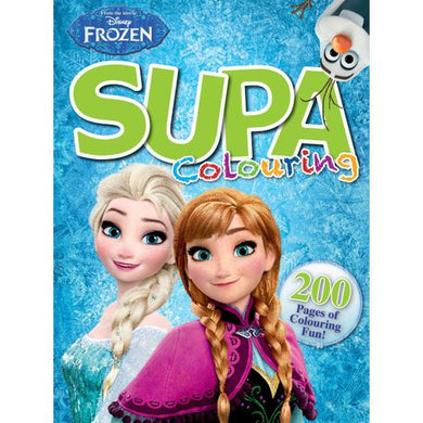 Frozen - Supa Colour & Activity Book 200pg