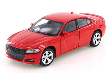 Dodge Charger R/T Red (scale 1 : 24)