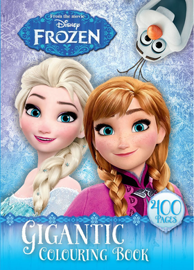 Frozen Gigantic 400pg Colouring Book