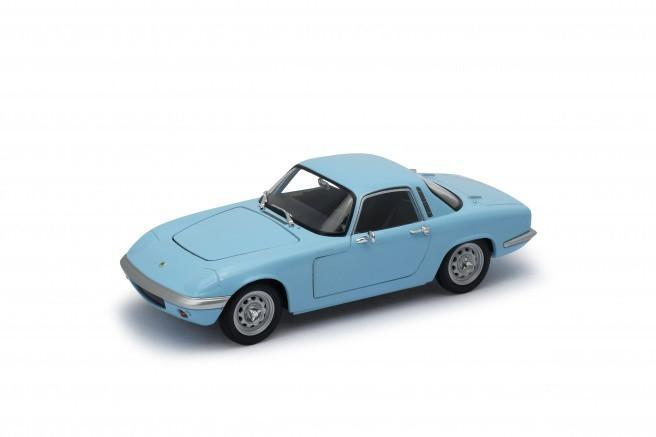 Lotus Elan Light Blue 1965 (scale 1 : 24)