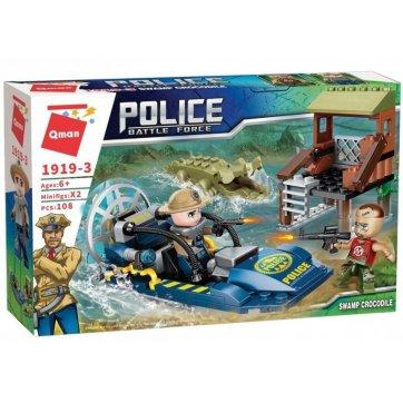Police Battle Force/Swamp Crocodile 108pc