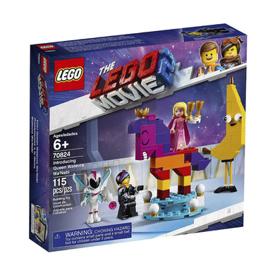 70824 Introducing Queen Watevra Wa'Nabi Lego Movie 2